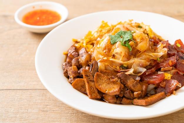 Nouilles de riz chinois à la vapeur