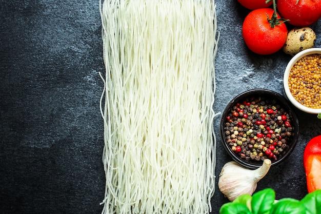 Nouilles de riz nouilles de verre vermicelles asiatiques