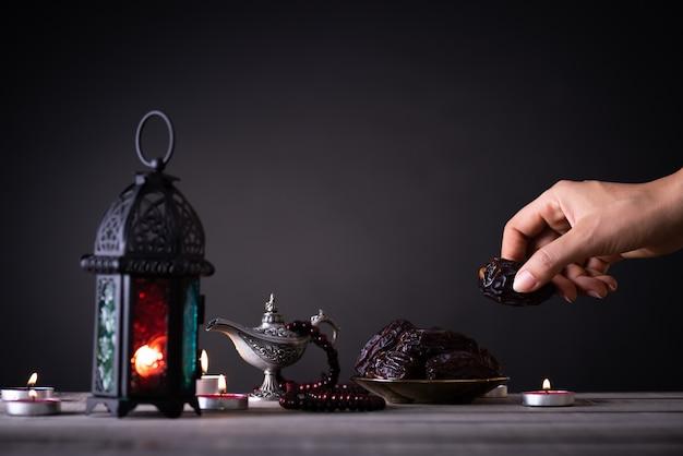 Nourriture et boissons du ramadan