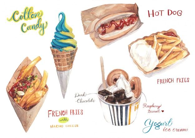 Nourriture et desserts