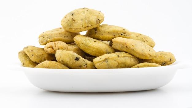 Nourriture frite indienne methivada