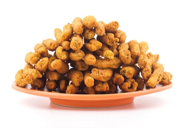 Nourriture gathiya namkeen