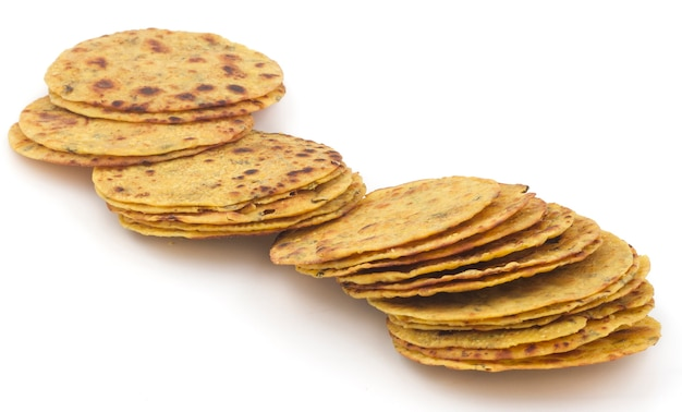 Nourriture indienne khakra