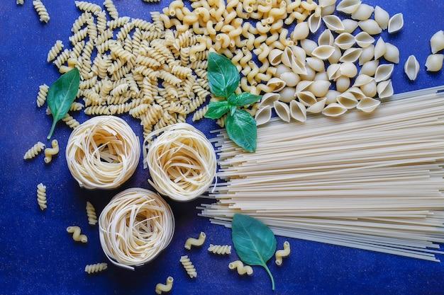 Nourriture italienne . cuisine italienne.