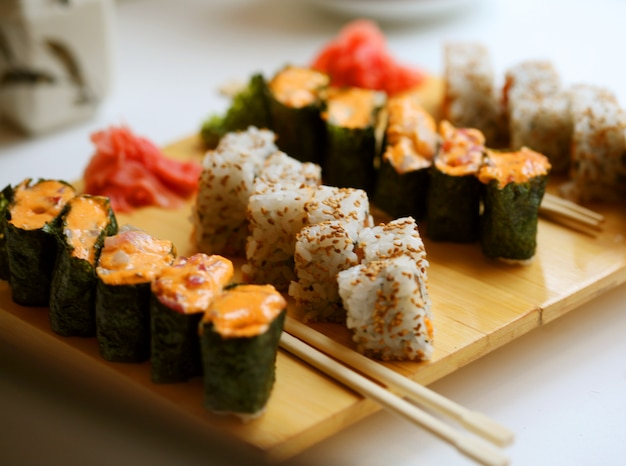 Nourriture japonaise. sushi.