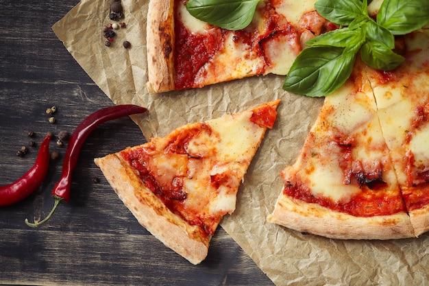 Nourriture de pizza
