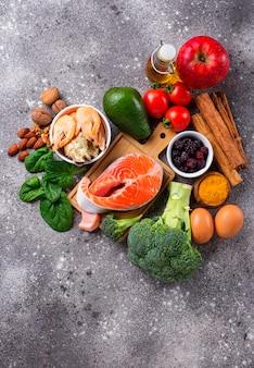 Nourriture pour le cerveau et bonne mémoire