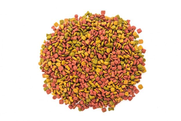 Nourriture pour chien colorful