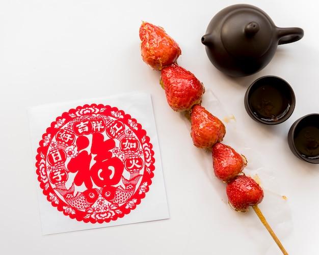 Nourriture pour le nouvel an chinois