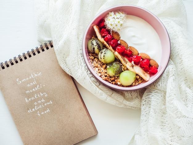 Nourriture saine et délicieuse