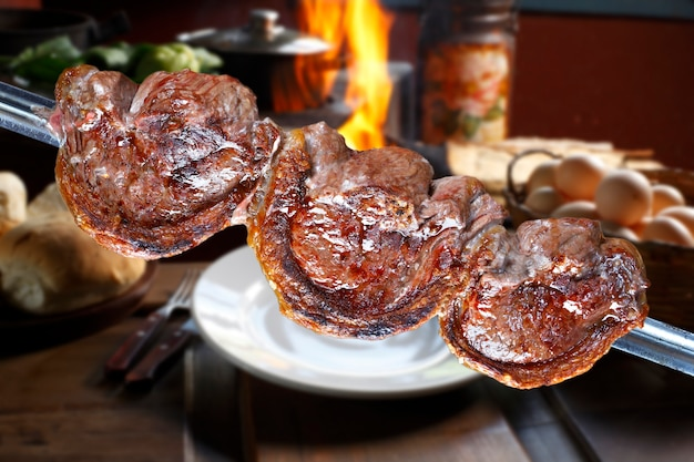 Nourriture de stak barazilian de picanha