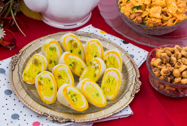 Nourriture sucrée indienne barfi