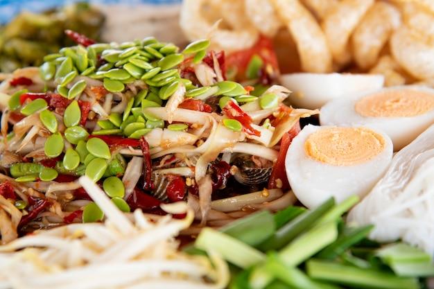 Nourriture thaï.