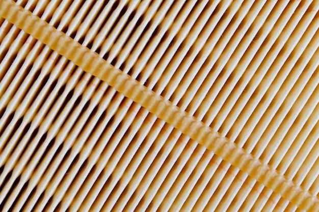 Nouveau filtre en papier pour la purification de l'air, le filtre est propre et n'a pas été utilisé