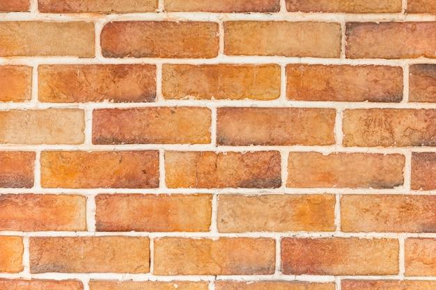 Nouveau fond de brique moderne orange