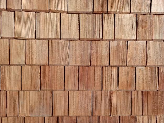 Nouveau fond de couverture de toit de plaques en bois