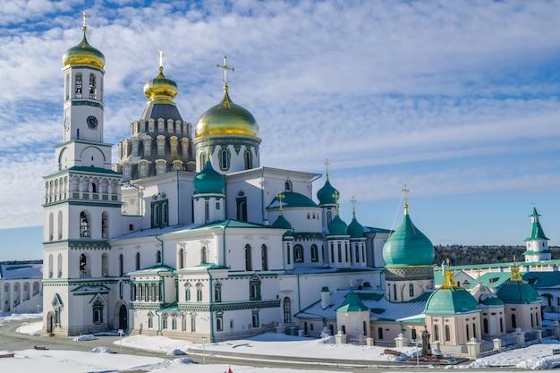 Nouveau monastère de jérusalem, istra, russie