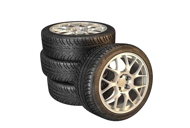 Nouveau pneu de voiture