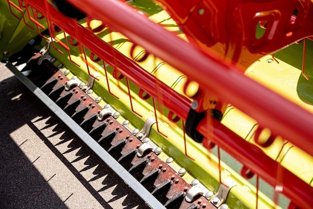 Nouveaux détails de machines et d'équipements agricoles modernes