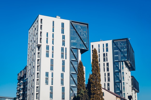 Nouveaux immeubles résidentiels à bureaux à plusieurs étages