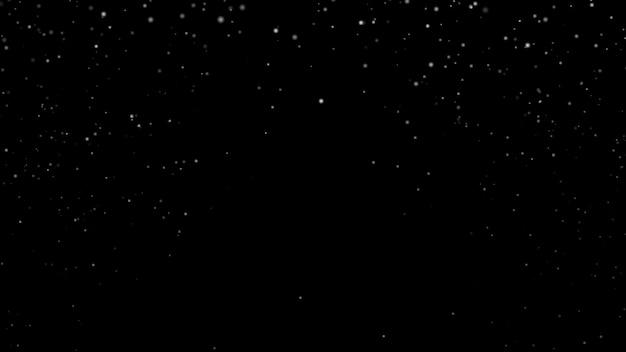 Nouvel an 2020. fond de bokeh. résumé des lumières. joyeux noël en toile de fond. lumière scintillante. défocalisation des particules. flocons isolés