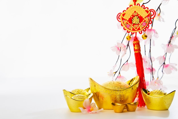 Nouvel an chinois fond 2019