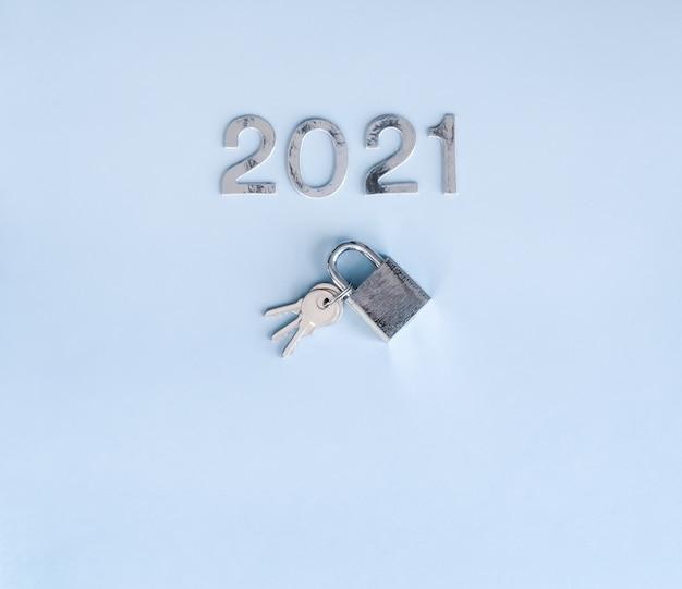 Nouvel an et clés.