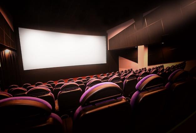 Nouvel auditorium de cinéma et théâtre.
