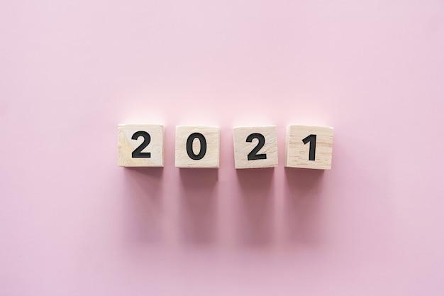La nouvelle année 2021 arrive, concept d'idée d'inspiration créative.