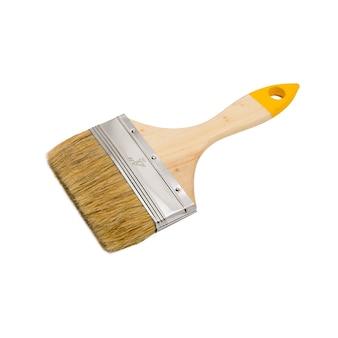 Nouvelle brosse en bois propre