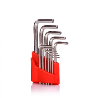 Nouvelle clé à six côtés.