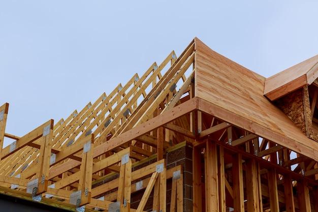 Nouvelle construction de maison avec cadre