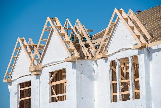 Nouvelle construction de maisons
