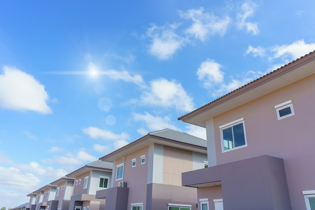 Nouvelle maison moderne immobilier en thaïlande