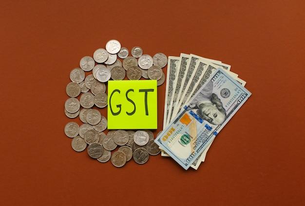 Nouvelle monnaie et taxe sur les produits et services, taxe tps