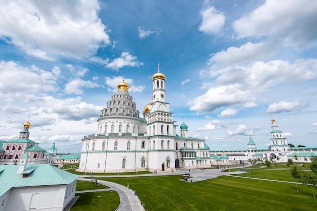 Nouvelle résurrection de jérusalem, voskresensky, monastère novoiyerusalimsky à istra en russie.