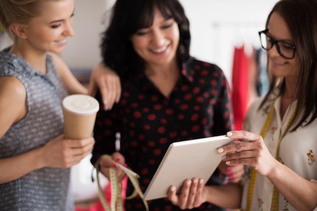 Nouvelle technologie dans les affaires des femmes