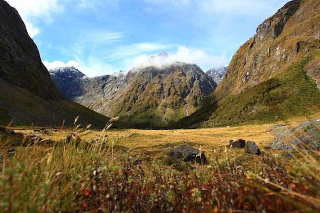 Nouvelle-zélande fiordland au milford sound