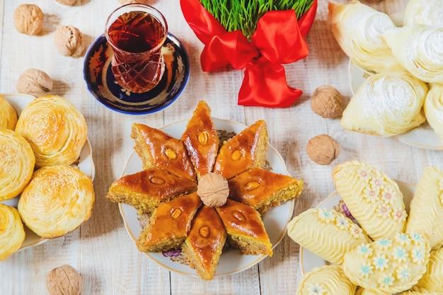 Novruz. traditions azerbaïdjanaises. nouvel an. mise au point sélective.