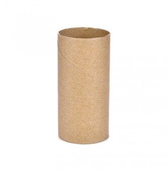 Noyau de tissu isolé sur fond blanc.
