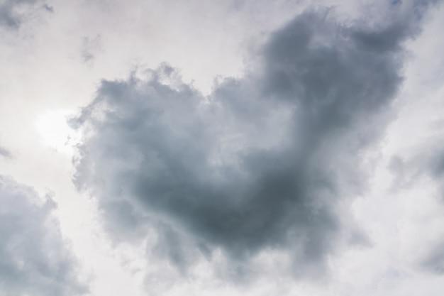 Nuage en forme de coeur