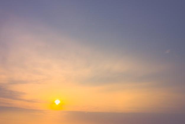 Nuage soleil