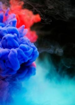 Nuages de couleurs vives