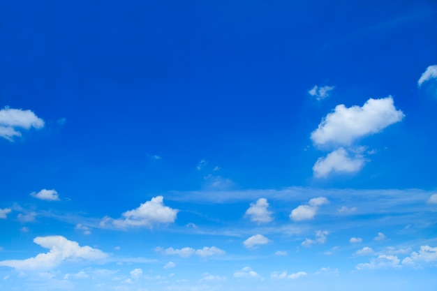 Nuages dans le ciel
