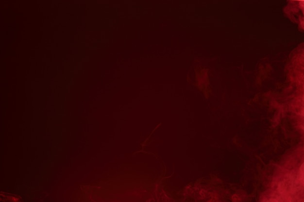 Nuages de fumée abstraites rouges, tous les mouvements arrière-plan flou, intention floue