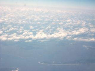 Nuages de haute altitude ciel
