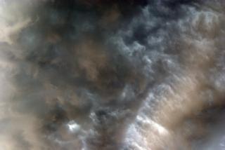 Les nuages d'orage violents