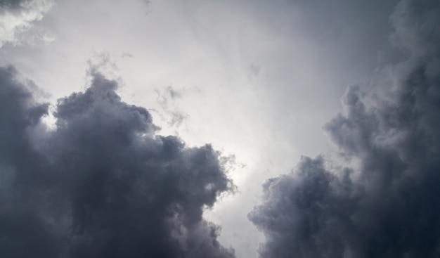Nuages pluvieux