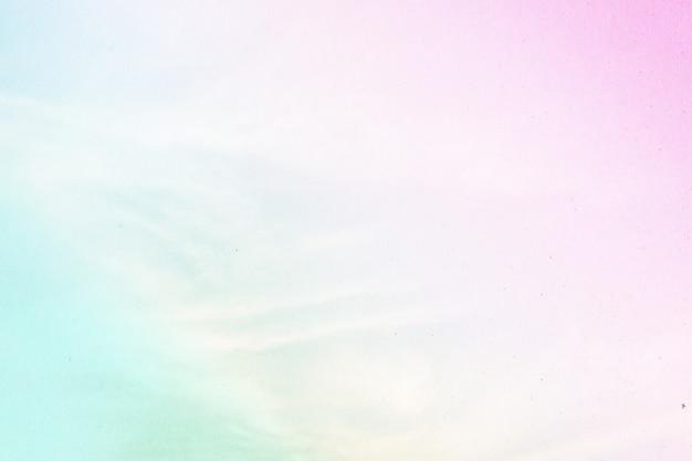 Nuageux est un dégradé de pastel, fond de ciel abstrait de couleur douce.