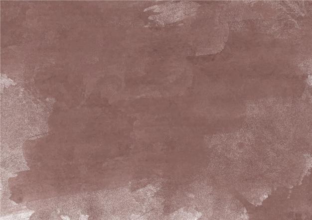 Nuances colorées de brun. texture et fond abstrait aquarelle